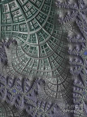 Mysterious Digital Art - Colony by John Edwards