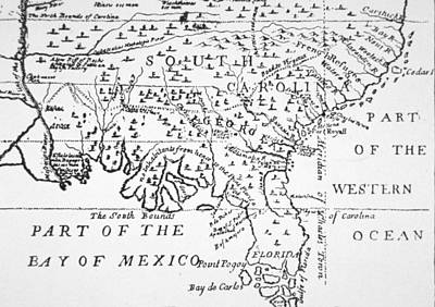 Southern Drawing - Colony Of Georgia America by American School