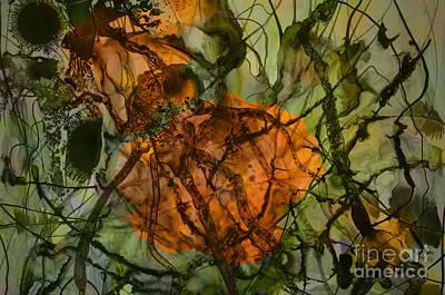 Color Abstraction Xx Print by David Gordon