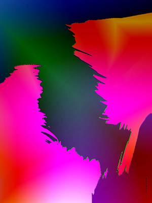Color Breaking Print by Mario Perez
