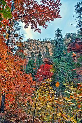 West Fork Digital Art - Color Cliff by Brian Lambert