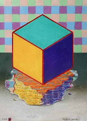 Color Cube Original by R Neville Johnston