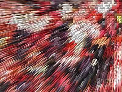 Color Explosion #02 Print by Ausra Huntington nee Paulauskaite