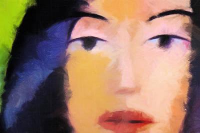 Color Face Print by Lutz Baar