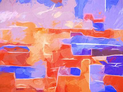 Color Graphics Print by Lutz Baar