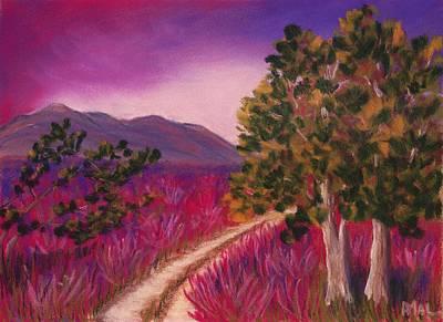 Color Painting - Color It Purple by Anastasiya Malakhova