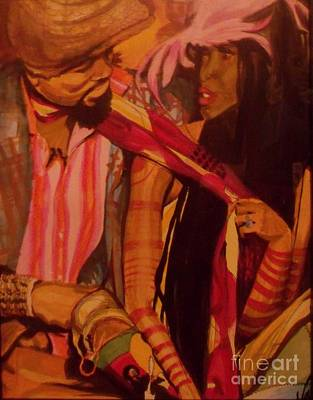 Jimmy Hendrix Painting - Color Of Love by Valencia Goodwin