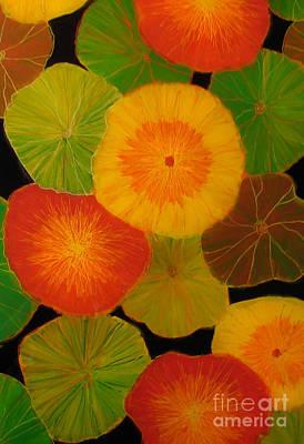 Plexiglas Painting - Color Splash 5 by Anna Skaradzinska
