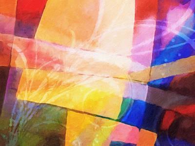 Color Symphony Print by Lutz Baar