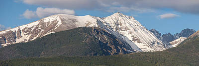 Crestone Photograph - Colorado 14er Humboldt Peak by Aaron Spong