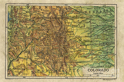 Colorado 1906 Original by Lisa Middleton