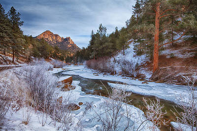 Colorado Creek Print by Darren  White