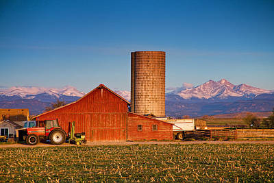 James Insogna Photograph - Colorado Farming by James BO  Insogna