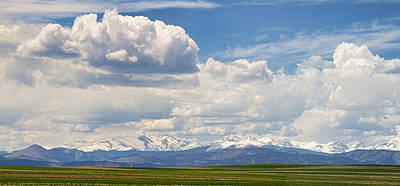 Colorado Front Range Boulder County Agriculture View Print by James BO  Insogna