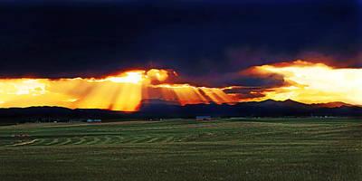 Colorado Front Range Sunset Print by Terril Heilman