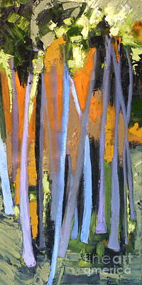 Colorful Abstract Drawing - Colorado Quiet by Susan A Becker