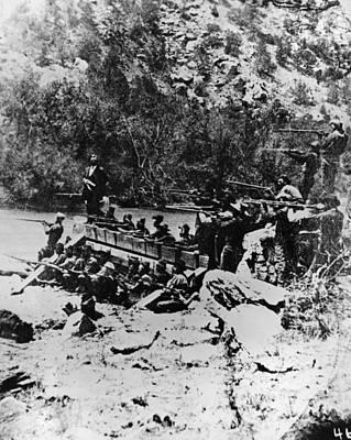Colorado Railroad Wars Print by Granger
