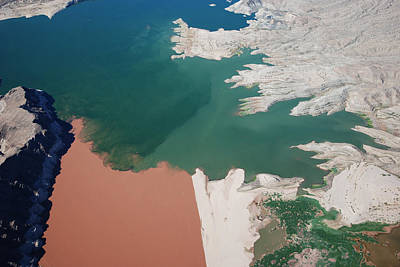Colorado River Meets Lake Mead Original by Mike Thompson