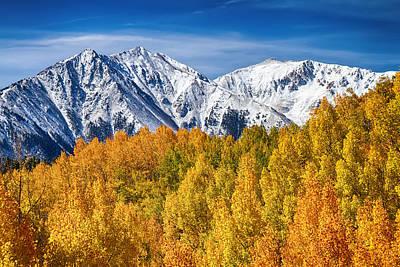 Colorado Rocky Mountain Autumn Magic Print by James BO  Insogna