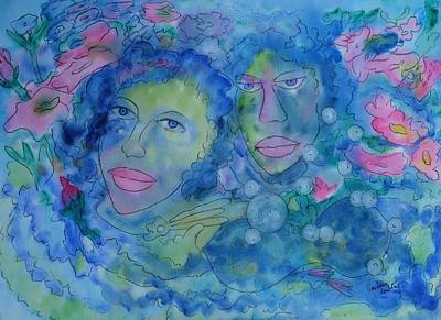 Colored Friends Original by Vandana Devendra
