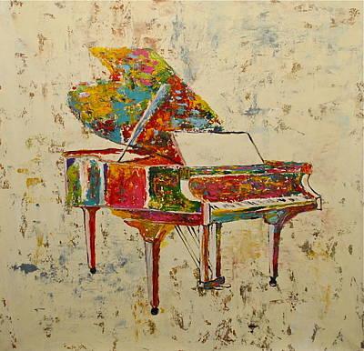 Gino Painting - Colorful And Grand by Gino Savarino