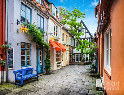 Germany Photograph - Colorful Bremen by JR Photography