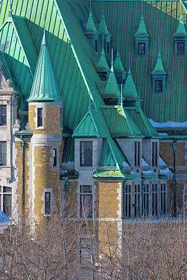 Quebec Houses Photograph - Colorful Colonial Building, Quebec City by Keren Su