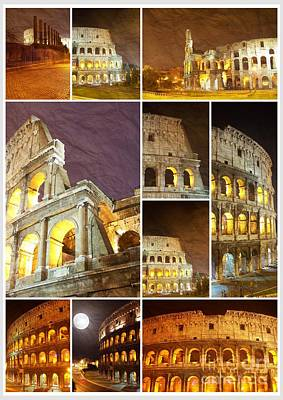 Colorful Composition Made Of Colosseum Original by Stefano Senise