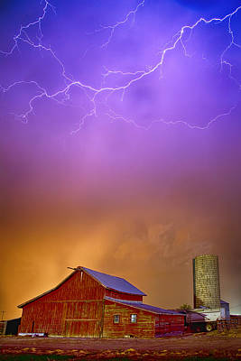 James Insogna Photograph - Colorful Country Storm by James BO  Insogna