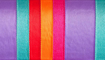 Colorful Nylon Print by Tom Gowanlock
