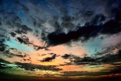 Colorful Sky. Print by Siti  Syuhada