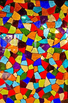 Colorful Visions Print by Manu Singh