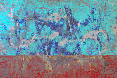 Batik Photograph - Colorful Walls Number 1 by Carol Leigh