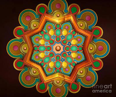 Colors Burst Print by Bedros Awak