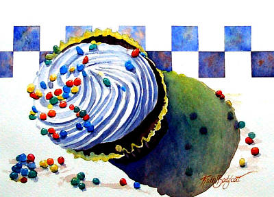 Colors For The Palate Print by Ruth Bodycott