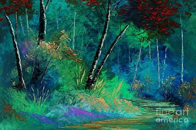 Tennessee Painting - Colors Of A Dream by Steven Lebron Langston
