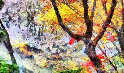 Floral Painting - Colors Of Autumn by George Rossidis