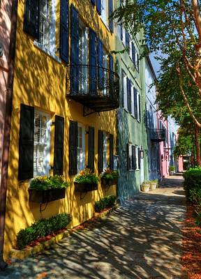 Colors Of Charleston 3 Print by Mel Steinhauer