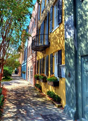 Colors Of Charleston 5 Print by Mel Steinhauer