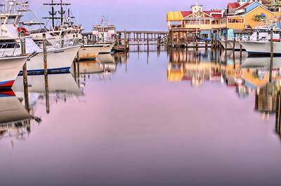 Colors Of Destin Print by JC Findley