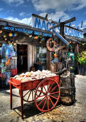 Storefront Photograph - Colors Of Key West 3 by Mel Steinhauer