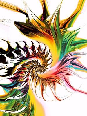 Colors Of Passion Print by Anastasiya Malakhova