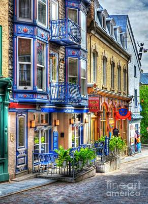 Window Signs Photograph - Colors Of Quebec 15 by Mel Steinhauer