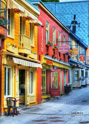 Storefront Photograph - Colors Of Quebec 20 by Mel Steinhauer
