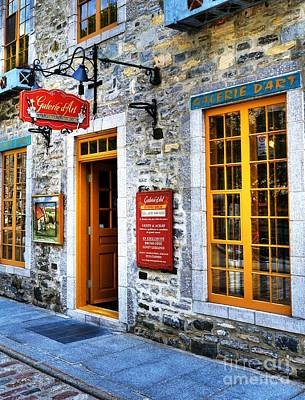Quebec Streets Photograph - Colors Of Quebec 9 by Mel Steinhauer