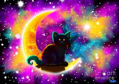 Kitty Digital Art - Colors Of The Universe by Nick Gustafson