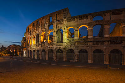 Ruin Photograph - Colosseum by Erik Brede