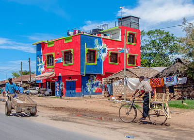 Mombasa Photograph - Colourfull Africa by Alex Hiemstra