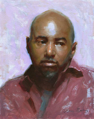 African-american Painting - Colquitt by Anna Rose Bain