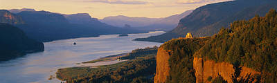 Coo Photograph - Columbia River Or by Panoramic Images
